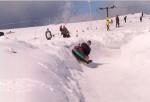 Bozi Dar - snowtubing