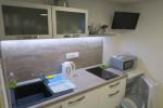 appartementen domky - 3-pers. studio keukenblok