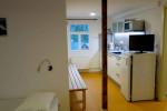 appartementen domky - 4-pers. studio keukenblok