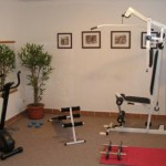 Pension Jully-fitnessruimte