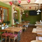 Pension U Modrinu - restaurant - gedeelte wintertuin