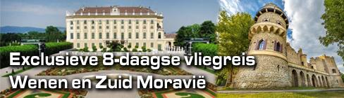 Exclusieve 8-daagse vliegreis Wenen Zuid Moravie