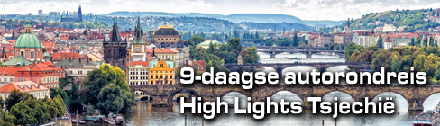9-daagse autorondreis Tsjechië - de noordroute