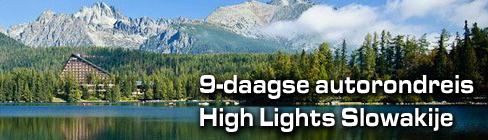 9-daagse High Lights autorondreis Slowakije